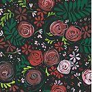Rosey Roses by Anita Ristovski