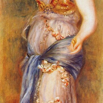 Auguste Renoir - Dancer With Castanettes 1909 by artcenter