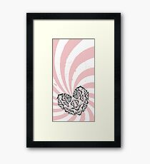 Love Conquers Hate Framed Print