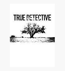True detective tree Photographic Print