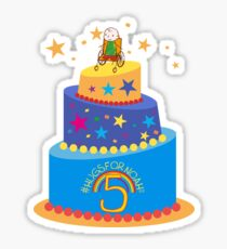 #HugsForNoah 5th Birthday Stickers Sticker