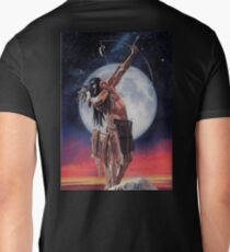 Indian Brave- warrior shooting star T-Shirt