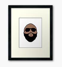 Rick Ross Framed Print