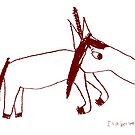 Unicorn Unadorned -by Isabella by sunset