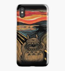 Munch's Neighbor iPhone Case