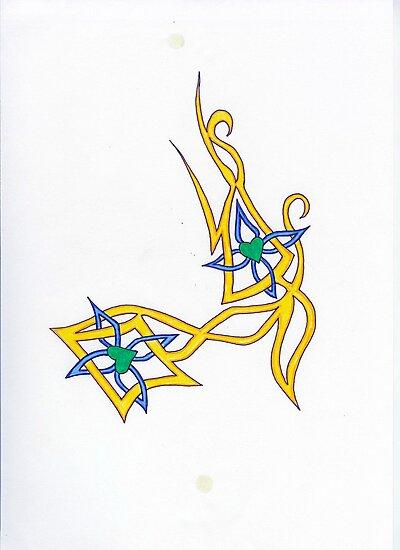 Crossed Heart Tattoo 34 by vjwriggs