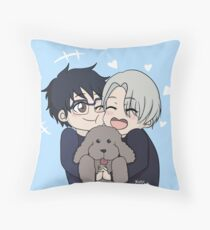 YOI Chibi Throw Pillow