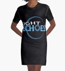 Light Echoes Graphic T-Shirt Dress