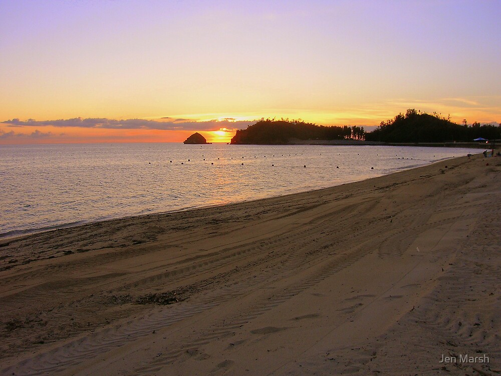 Okinawan Sunset III by Jen Marsh