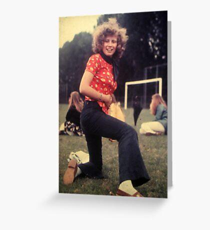 tribute to my mum Greeting Card