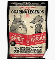 Ocarina Legends Poster