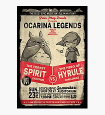 Ocarina Legends Photographic Print
