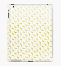 Retro Chic Golden Flamingos iPad Case/Skin