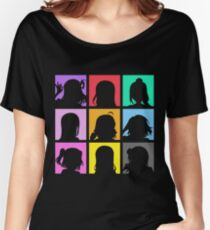 Aqours Portraits (Love Live! Sunshine!!) Women's Relaxed Fit T-Shirt