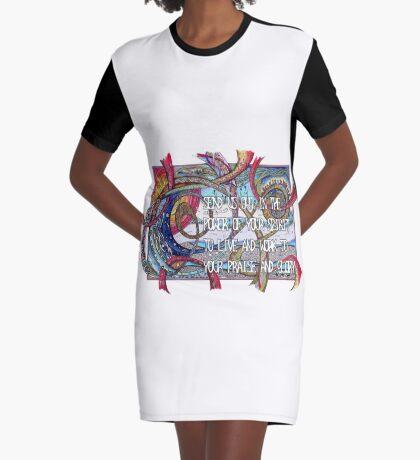 Send Us Out Graphic T-Shirt Dress