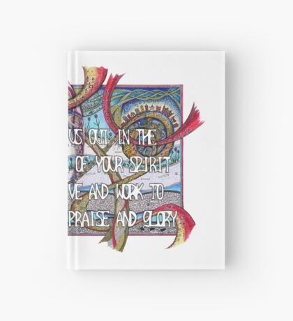 Send Us Out Hardcover Journal