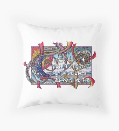 Send Us Out Throw Pillow