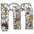 IMOK Letter M by Imok