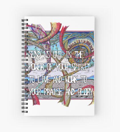 Send Us Out Spiral Notebook
