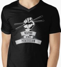 Weapons of Mass Percussion Men's V-Neck T-Shirt