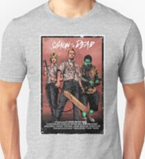 Shaun of the Dead - Movie Style Poster Artwork Unisex T-Shirt