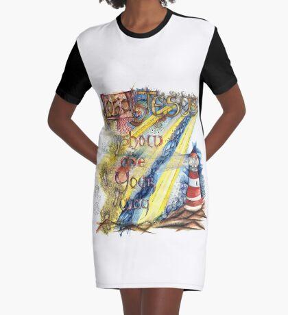 Show Me Graphic T-Shirt Dress