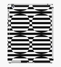 Striped Contrast iPad Case/Skin