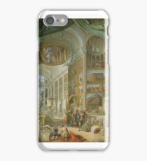 Ancient Rome , Giovanni Paolo Panini iPhone Case/Skin