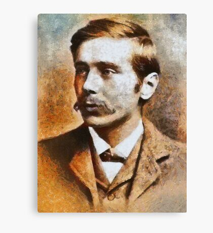 H. G. Wells, Father of Science Fiction Canvas Print