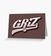 Griz Greeting Card
