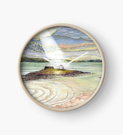 St. Cuthbert's Island, Holy Island Clock