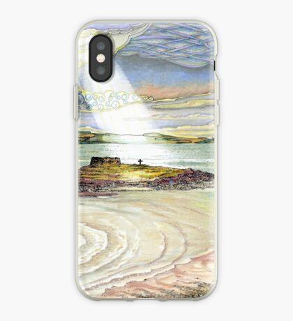 St. Cuthbert's Island, Holy Island iPhone Case