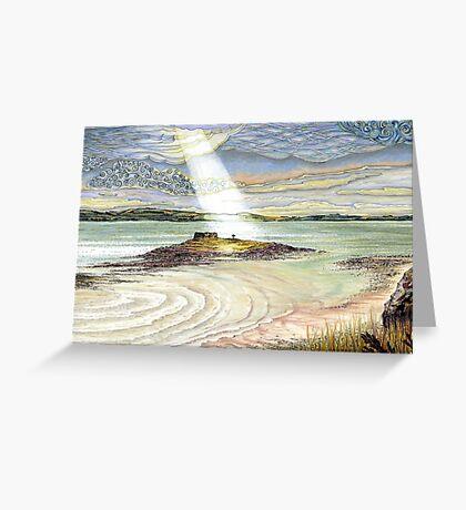 St. Cuthbert's Island, Holy Island Greeting Card