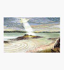 St. Cuthbert's Island, Holy Island Photographic Print