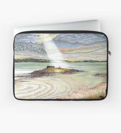 St. Cuthbert's Island, Holy Island Laptop Sleeve