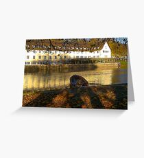 Stockerkahn in Autumn Greeting Card