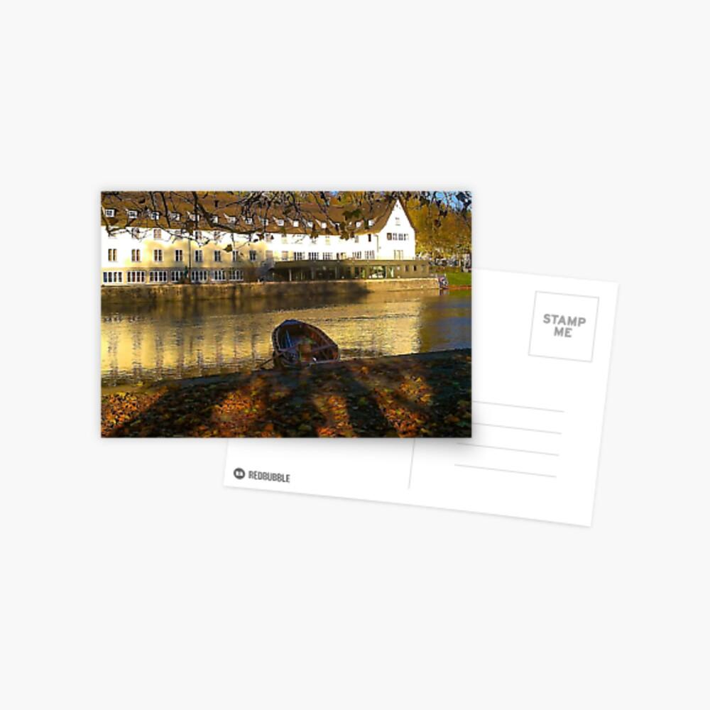 Stockerkahn in Autumn Postcard