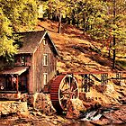 """""""Gresham Mill in October""""... prints and products by Bob Hall©"""