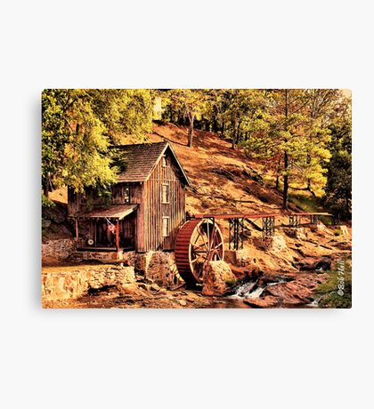 """Gresham Mill in October""... prints and products Canvas Print"