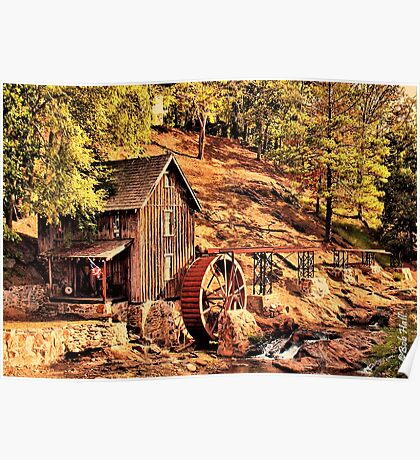 """""""Gresham Mill in October""""... prints and products Poster"""