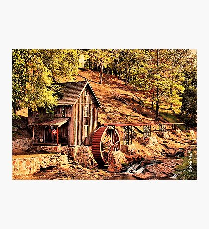 """""""Gresham Mill in October""""... prints and products Photographic Print"""