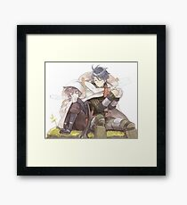 Log horizon Framed Print