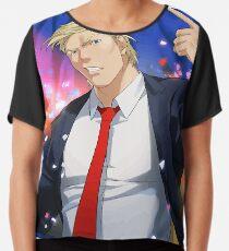 Anime Trump Chiffon Top
