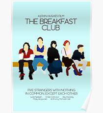 Der Frühstücksclub // John Hughes Einzigartiges minimalistisches Design Poster