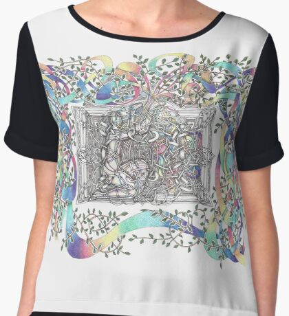 The Box Women's Chiffon Top
