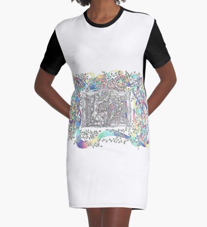 The Box Graphic T-Shirt Dress