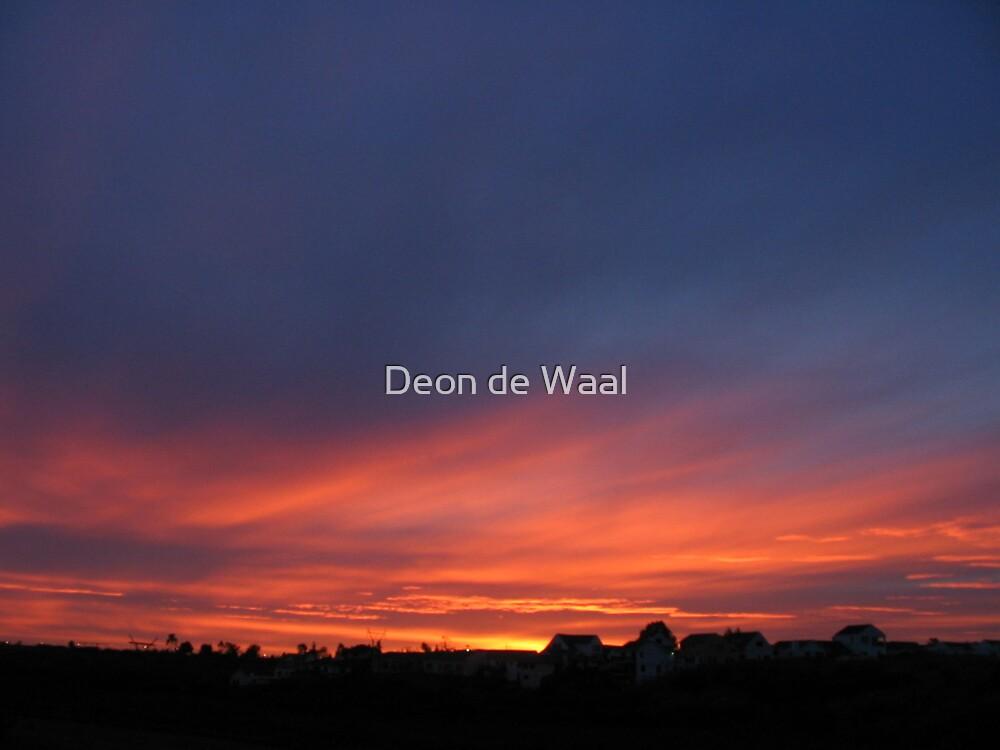 God's Palette by Deon de Waal
