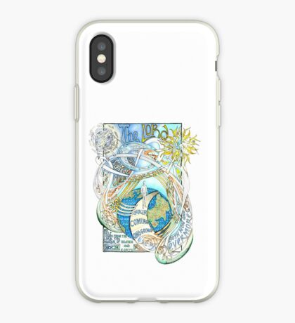 The Lord Will Watch Over You iPhone Case