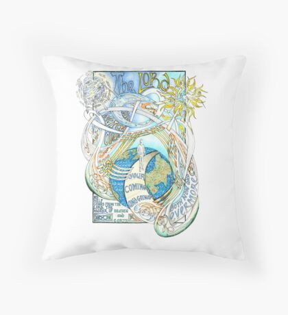 The Lord Will Watch Over You Throw Pillow