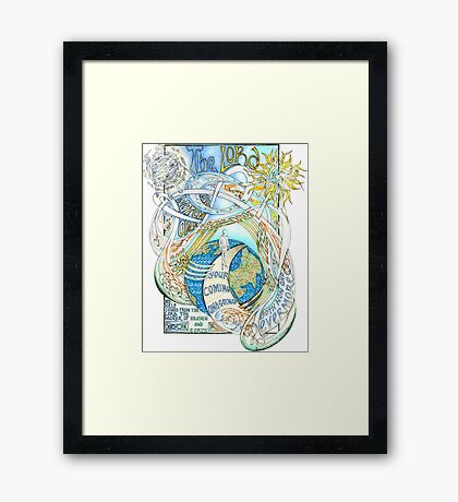 The Lord Will Watch Over You Framed Print